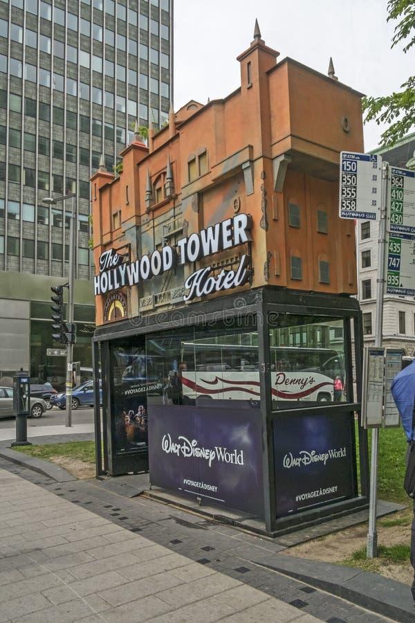 Publiciteit de van de binnenstad van Montreal royalty-vrije stock afbeeldingen