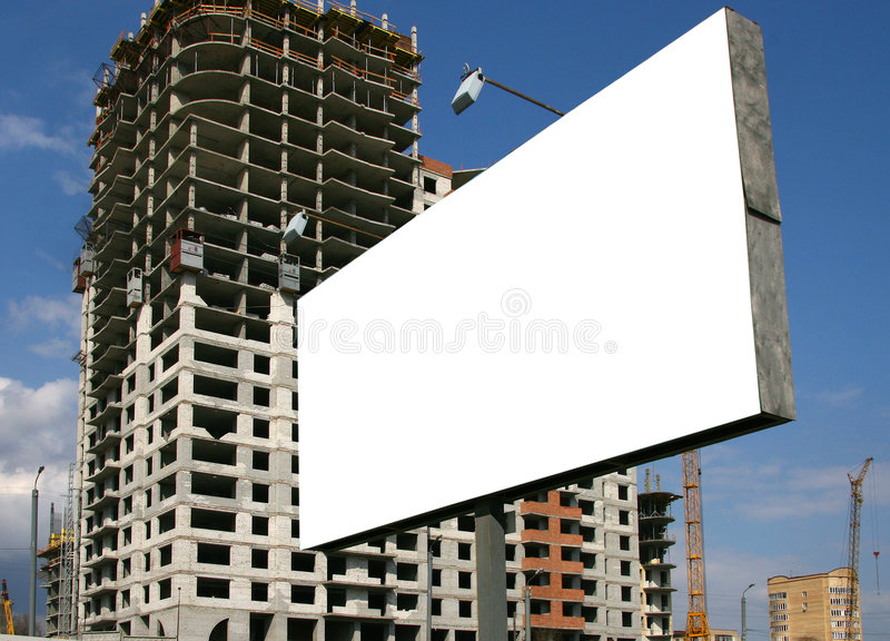 Download Publicity board . stock photo. Image of text, construction - 2390406