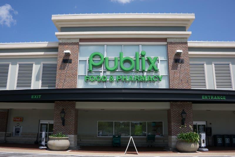 Publix Supermarket royalty free stock images