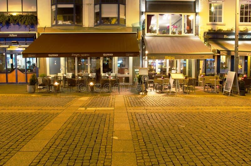 Pubs at night royalty free stock image