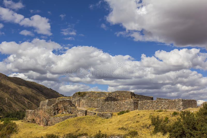 Puca Pucara ruiniert Cuzco Peru lizenzfreies stockfoto