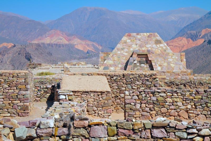 pucara οχυρώσεων στοκ φωτογραφίες