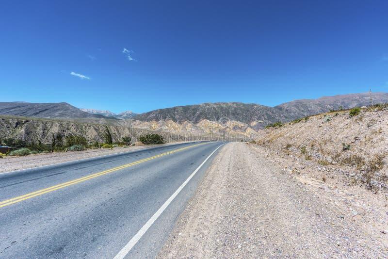 Pucara Quebrada de Humahuaca, Jujuy, Argentina. royaltyfri foto