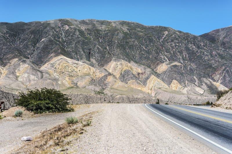 Pucara, Quebrada DE Humahuaca, Jujuy, Argentinië. stock foto