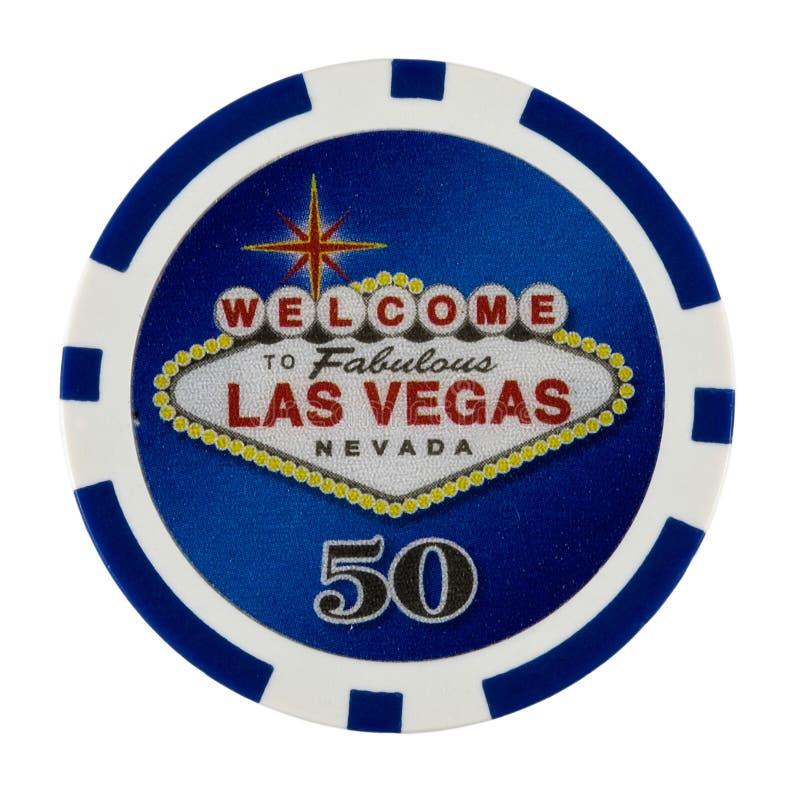 Puce de tisonnier de casino photo libre de droits