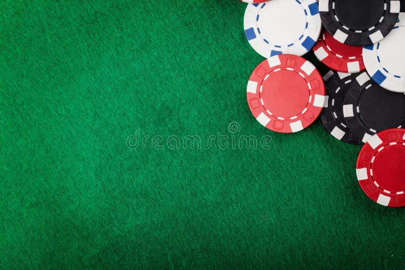 Puces de casino photo libre de droits