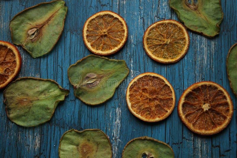 Puces de fruit image stock