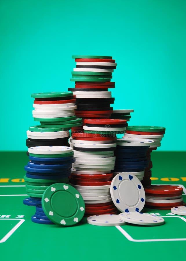 Jetons de poker photos stock