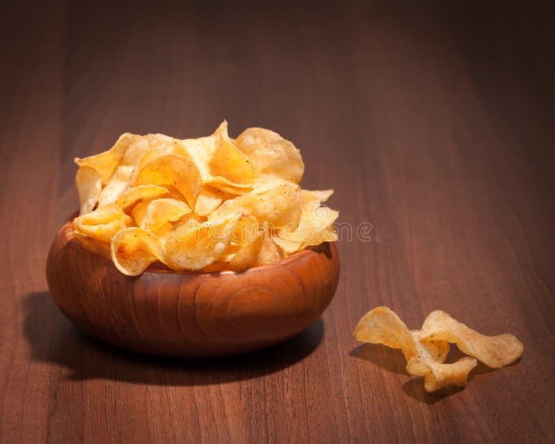 pucharów chipsy zdjęcia stock