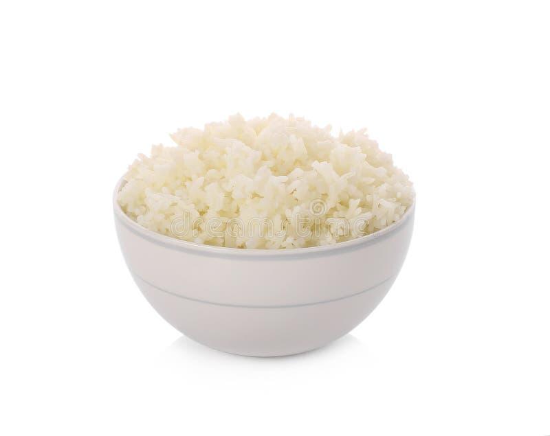 Puchar Rice na Białym tle zdjęcia royalty free