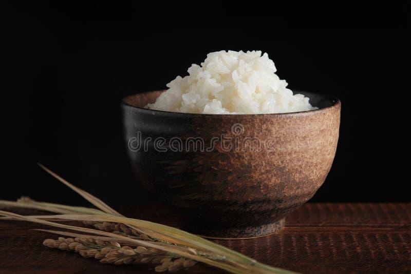 Puchar ryż obraz stock