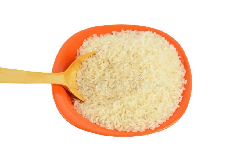 Puchar ryż z ścinek ścieżką obraz royalty free