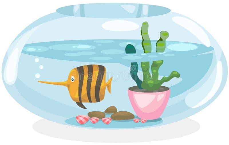 puchar ryba royalty ilustracja