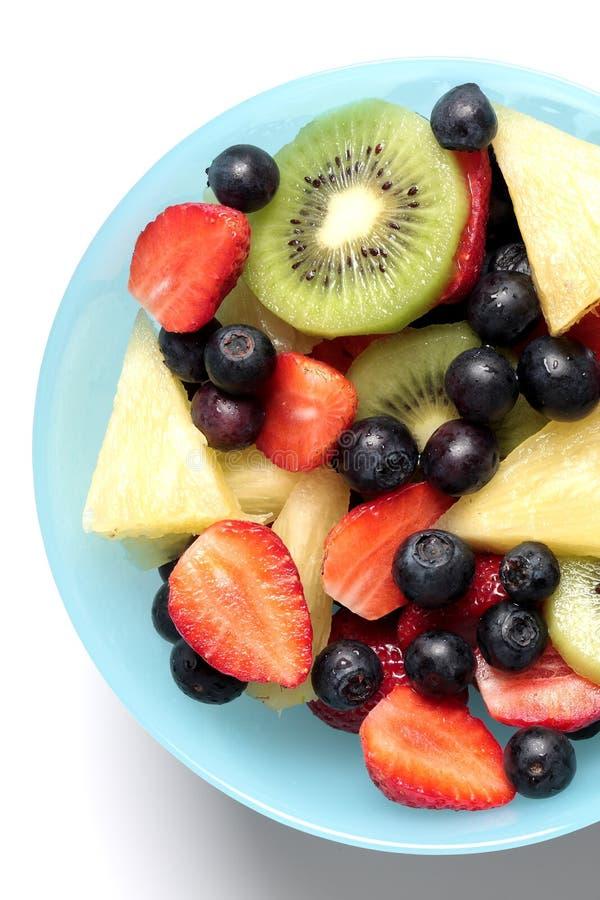 pucharu świeżej owoc mieszanki plasterek obrazy stock