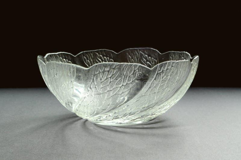 pucharu szkła wzoru rzeźba zdjęcia stock