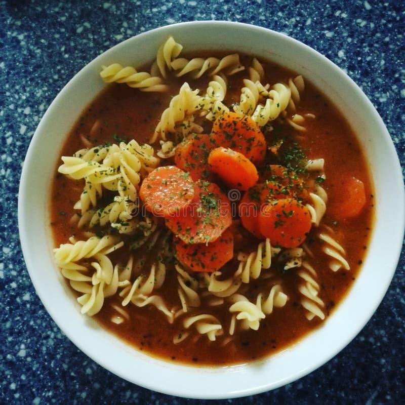pucharu warzywo zupny pomidorowy obrazy stock