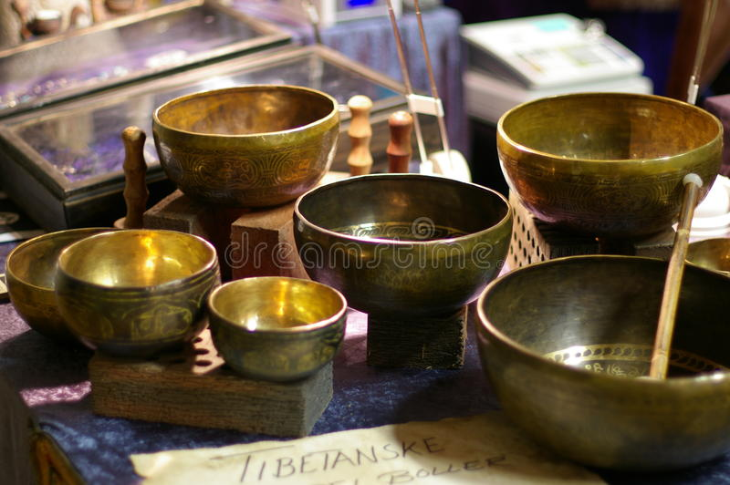 puchary target986_1_ tibetan fotografia stock