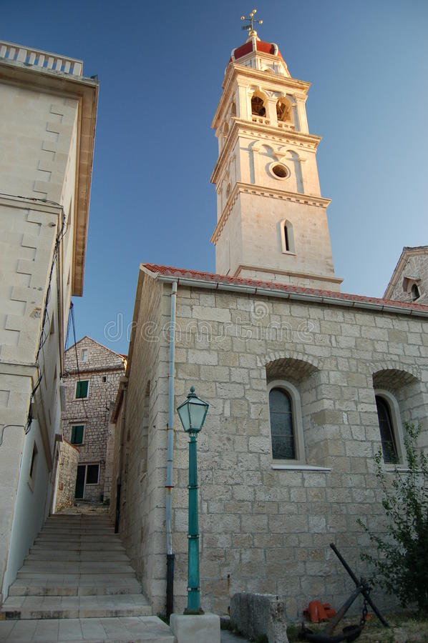 pucisca острова церков brac стоковое изображение rf