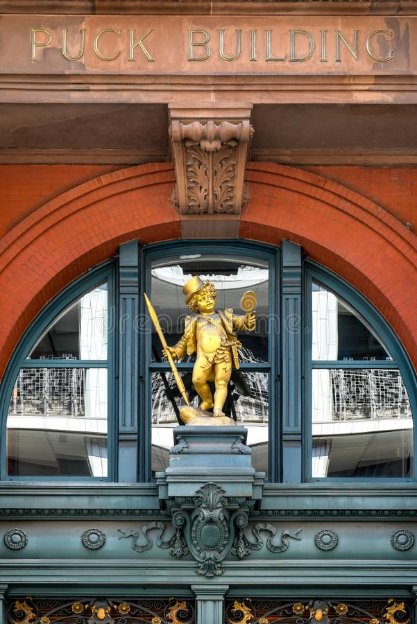Puck Building - New York City stock photography