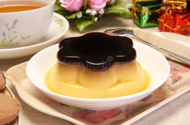 Pudding photos libres de droits
