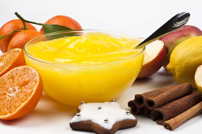 Pudding immagine stock