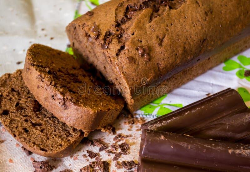 Pudding de chocolat images libres de droits