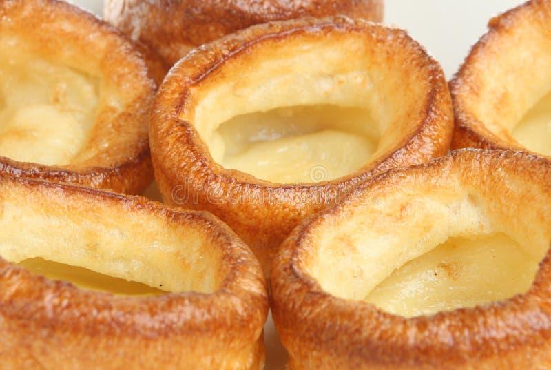 Puddings de Yorkshire images stock