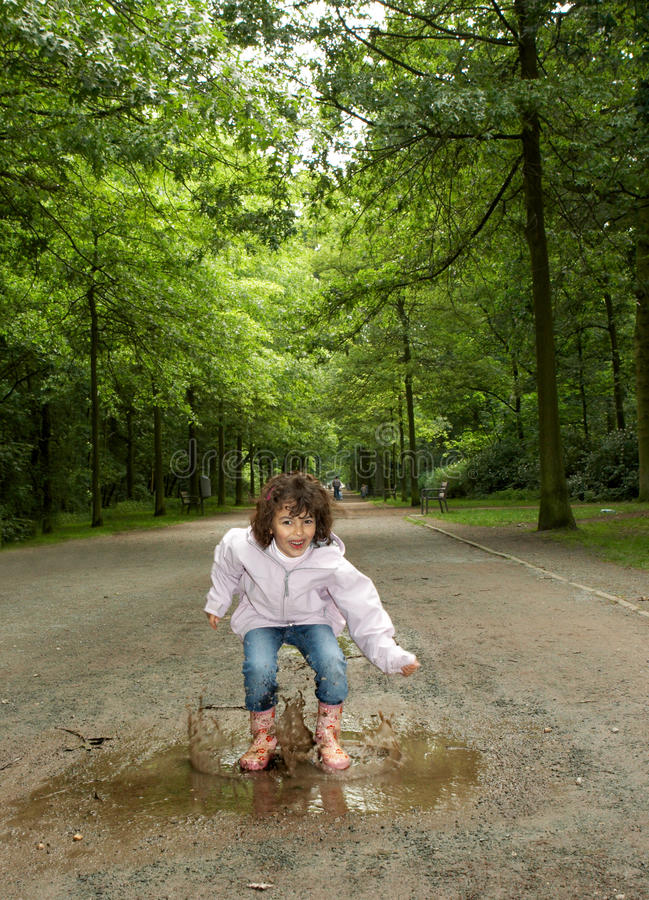 Download Puddle In The Park Royalty Free Stock Image - Image: 10813266