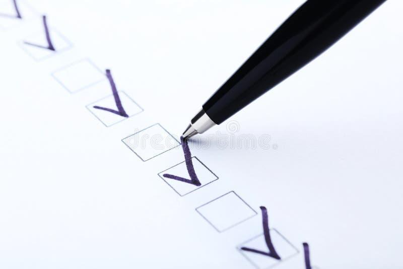 pudełek czek eps8 ilustraci wektor zdjęcie stock