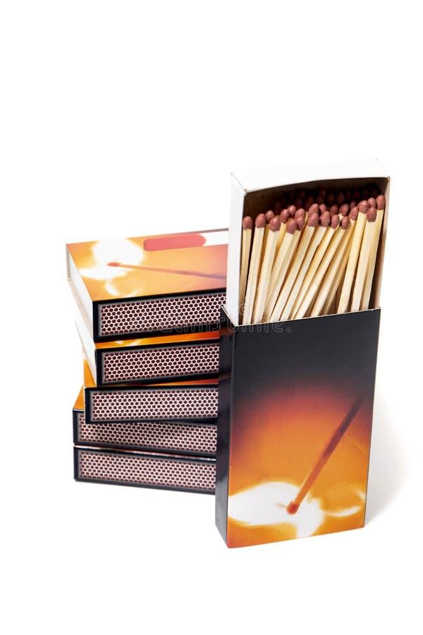 Pudełka dopasowania zdjęcia stock