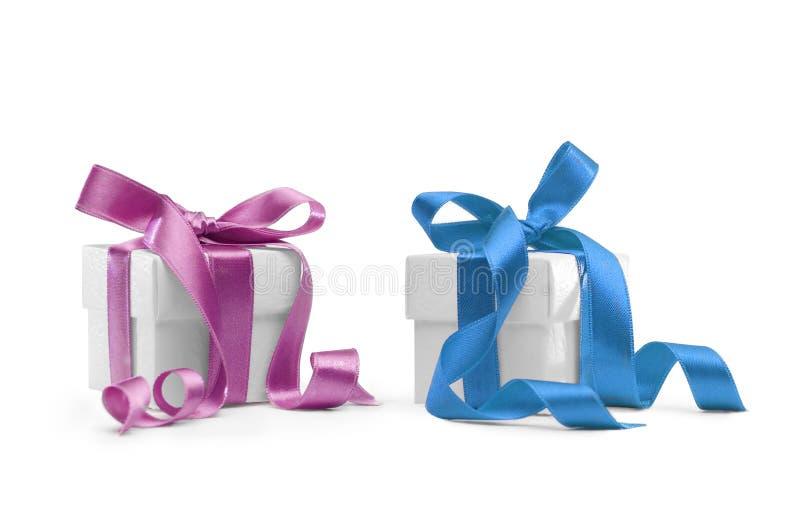 pudełka przedstawiają dwa obrazy royalty free