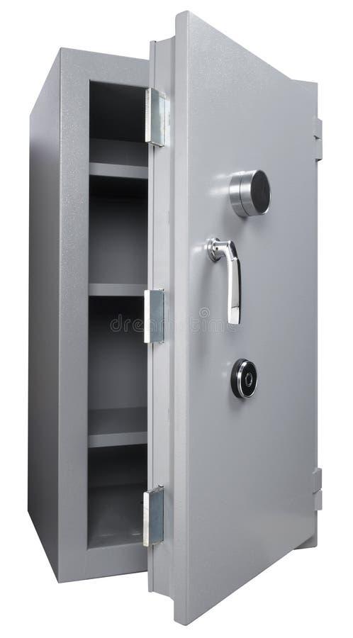 pudełko biel odosobniony bezpieczny fotografia stock