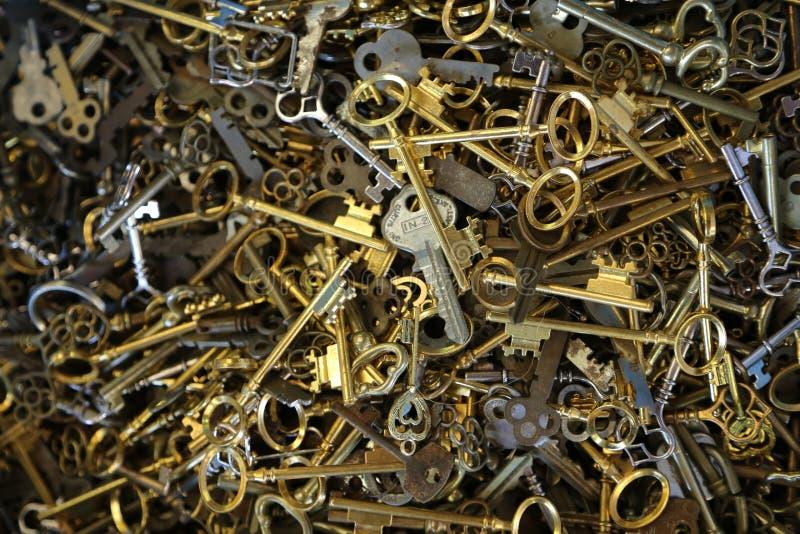 Pudełko klucze obrazy royalty free