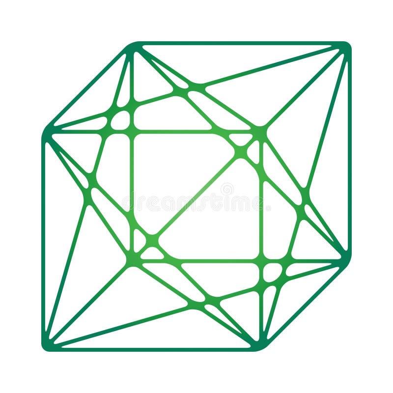 Pudełko logarytmiczni trójboki zdjęcia stock