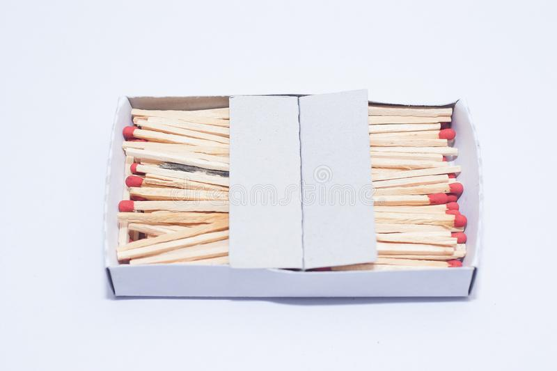 Pudełko matchstick obraz stock