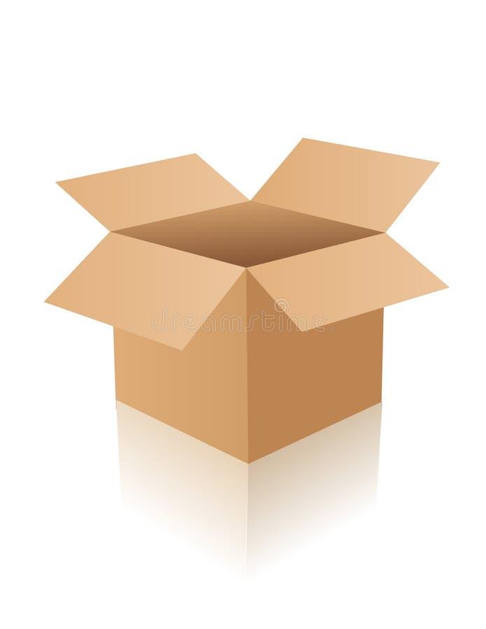 pudełko otwierający royalty ilustracja