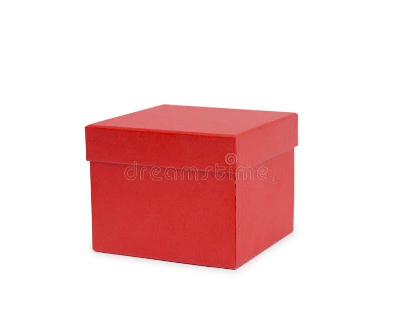 pudełko tła prezentu pojedynczy white obraz stock