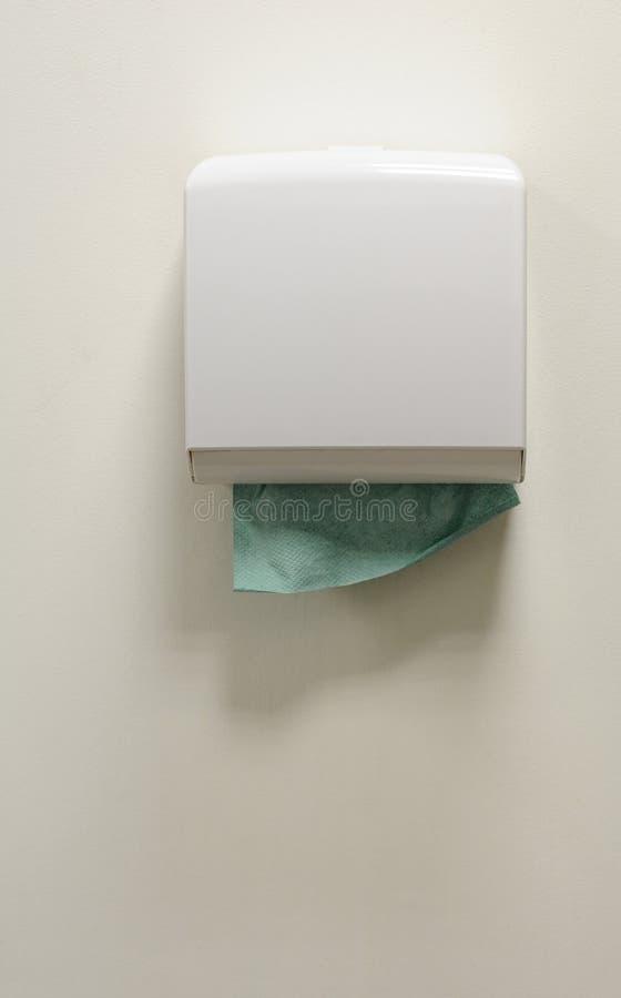 pudełkowaci papierowi plastikowi ręczniki obrazy royalty free