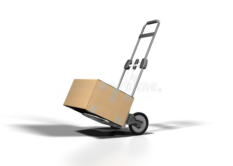 pudełkowata żeglugi royalty ilustracja