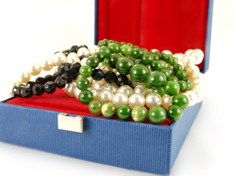 pudełkowata biżuteria zdjęcie royalty free