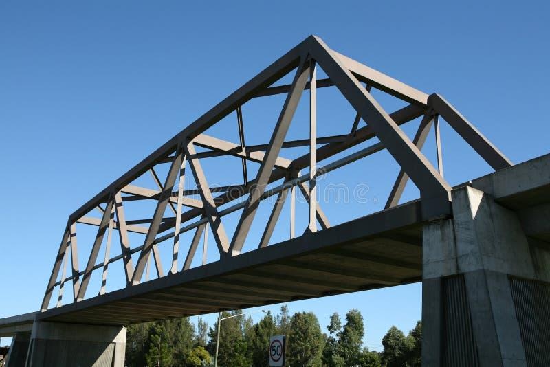 pudełkowata dźwigar bridge zdjęcia stock