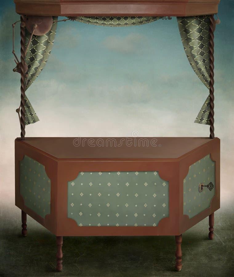 pudełkowata magia royalty ilustracja