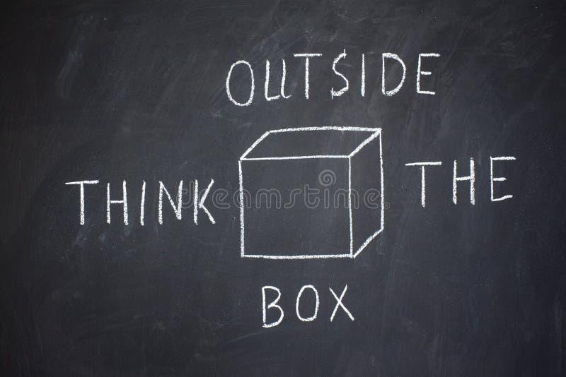 pudełkowata na zewnątrz, obrazy stock
