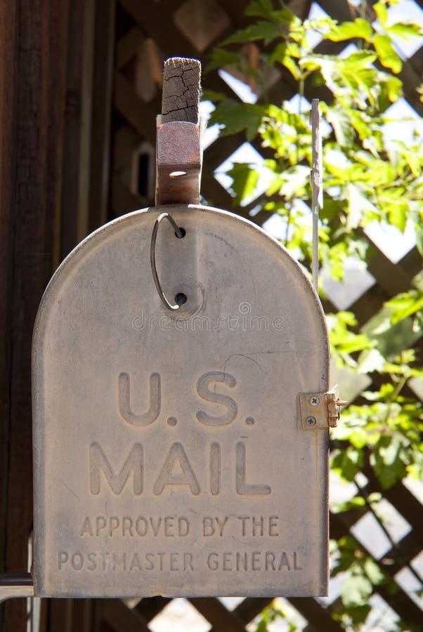 pudełkowata poczta s u zdjęcie royalty free