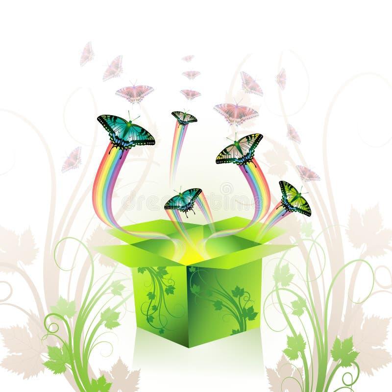 pudełkowata wiosna royalty ilustracja