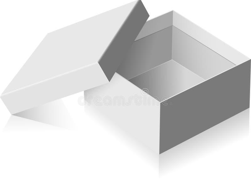 pudełkowate szarość ilustracji