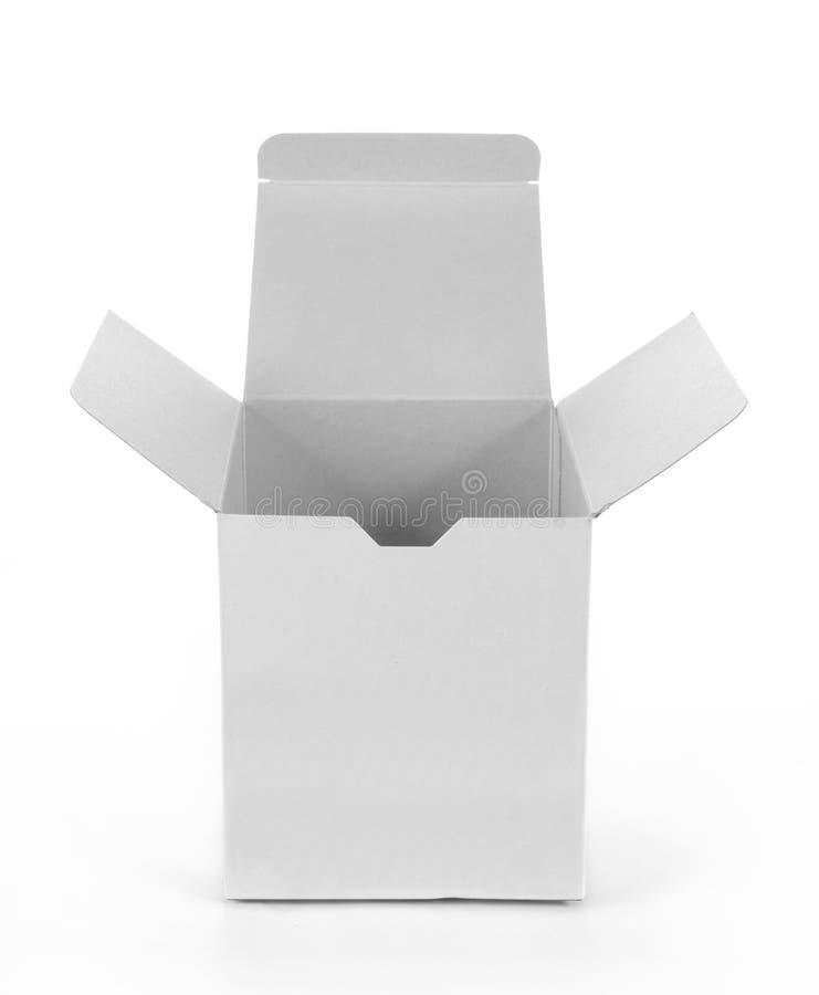 pudełkowaty biel obrazy royalty free