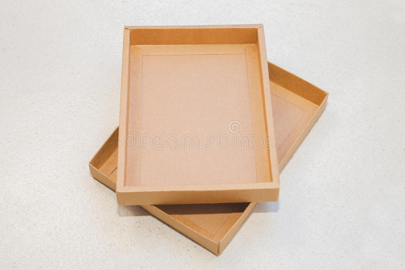 pudełkowaty brąz zdjęcia royalty free