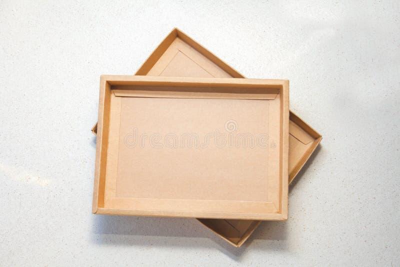 pudełkowaty brąz zdjęcie royalty free
