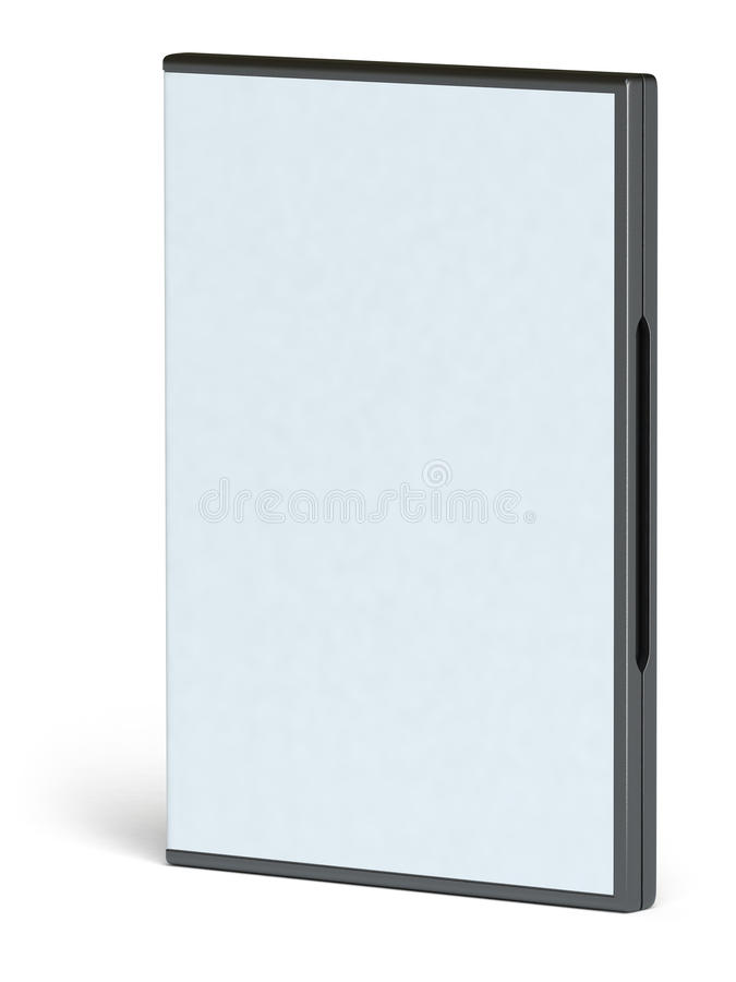 pudełkowaty dvd obraz stock